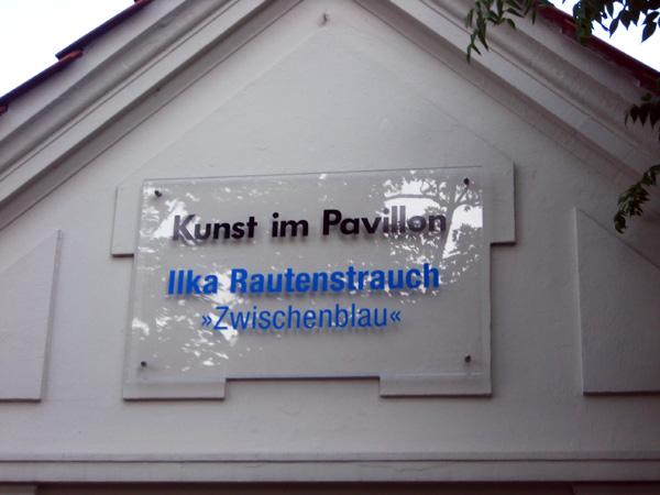 Ilka Rautenstrauch: Zwischenblau