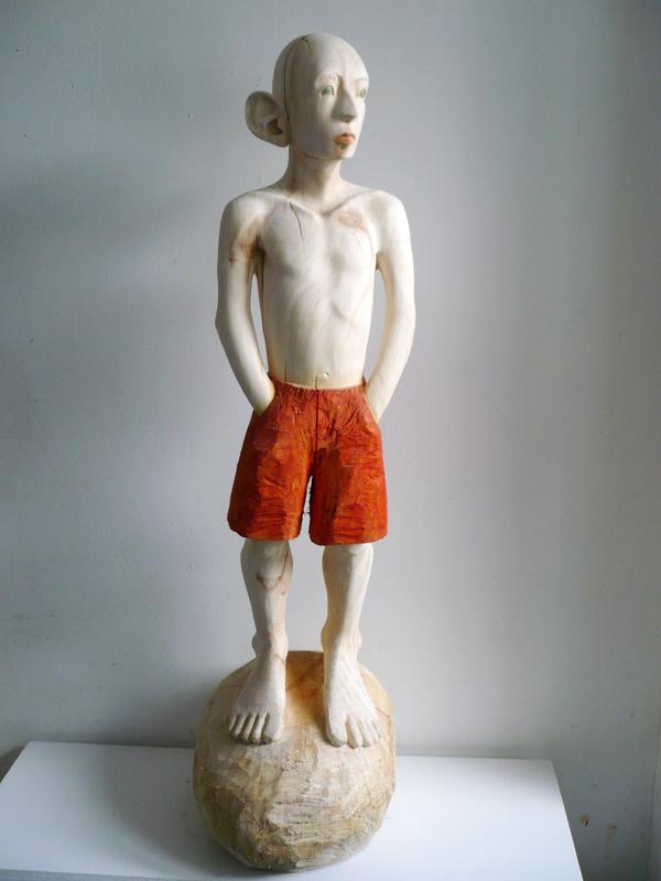 Rautenstrauch: Figur mit roter Hose 2009