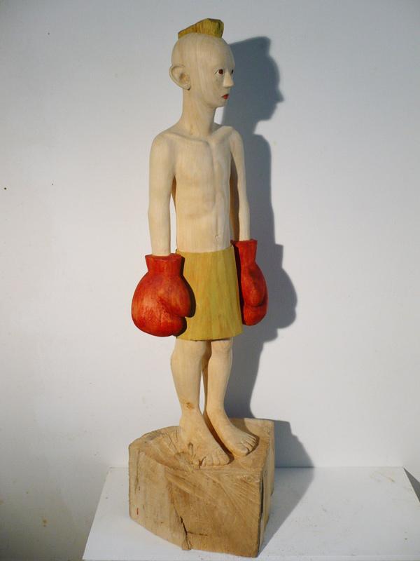 Rautenstrauch: Junge mit Handschuhen 2008