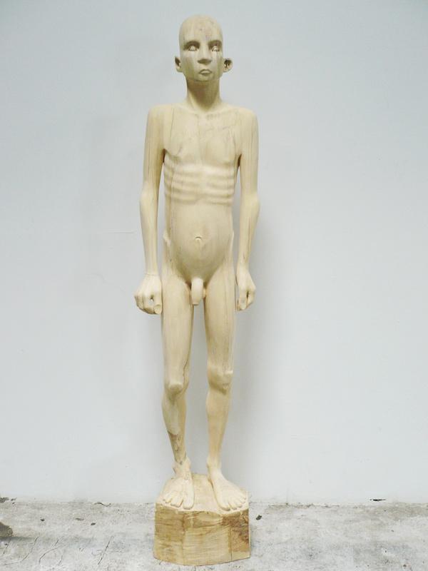 Rautenstrauch: Nackte Figur 2012