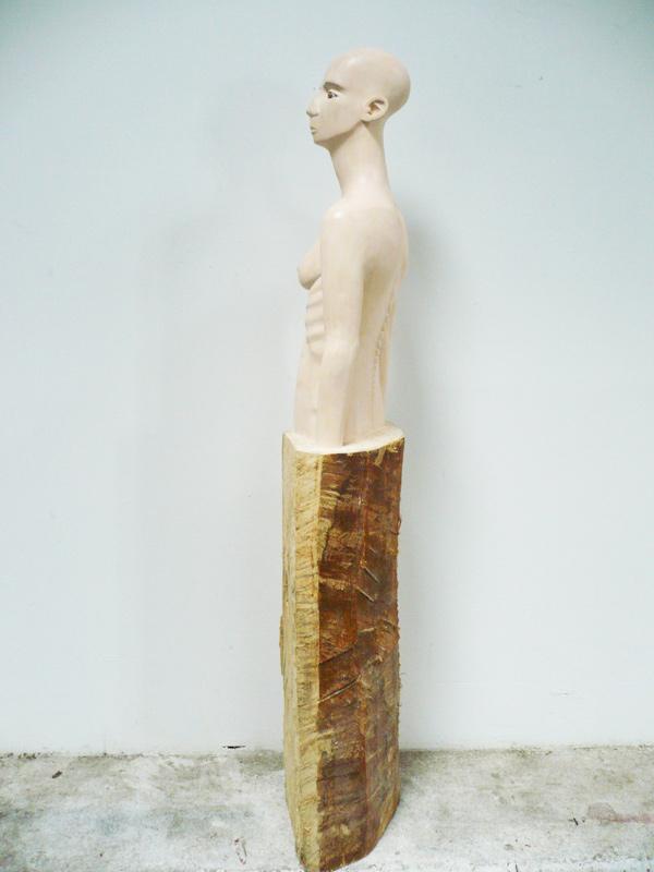 Rautenstrauch: Skulptur 2012 seitlich