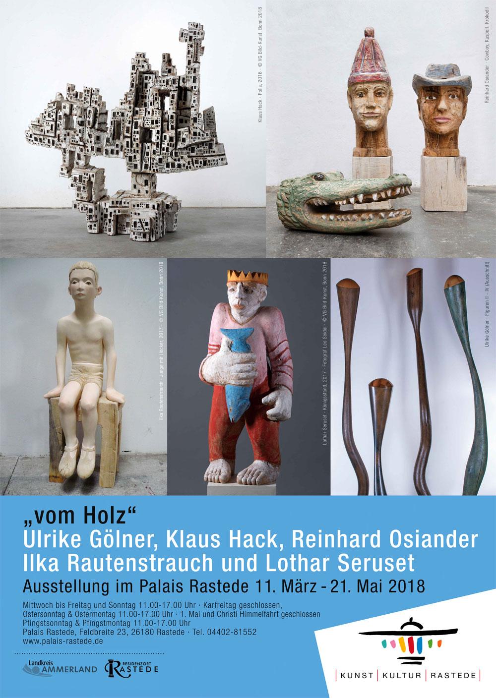 Ilka Rautenstrauch - Ausstellung vom Holz 2018